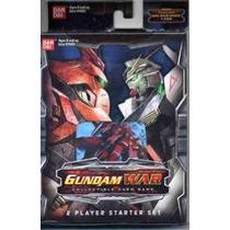 Gundam Juego De Cartas Coleccionable Set P/2 Jugadores