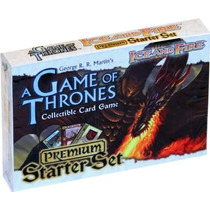 A Game Of Thrones Juego De Cartas Ccg Set Premium Ice&fire