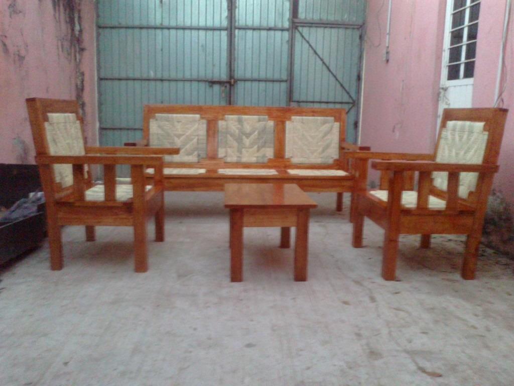 Muebles de cedro salas 20170829232409 for Salas de madera modernas