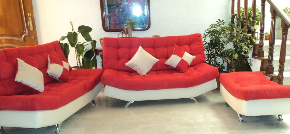 Sala lounge vip moderna minimalista barata puff salas for Precio de salas modernas