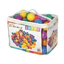 Intex Diversión Ballz - 100 Multicolores 3 1/8 Bolas De Plá