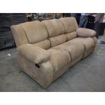 Sofa Con Dos Reclinables