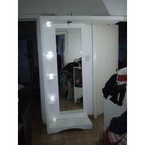 Espejo Cuerpo Completo Lounge Con Luz ,impecable
