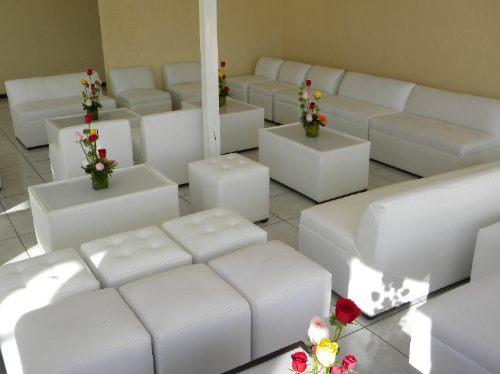 Salas lounge toluca metepec renta muebles para eventos for Alquiler muebles para eventos