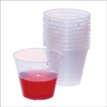Plástico Desechable Graduó Tazas De La Medicina Con Capacida