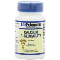 Life Extension Calcio D-glucarato 200 Mg 60 Cápsula