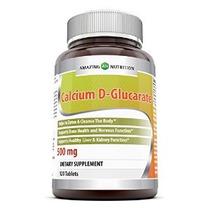El Calcio Nutrición Increíble D-glucarato (500 Mg 120 Tablet