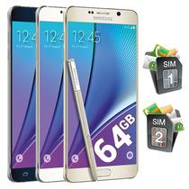 Samsung Galaxy Note 5 Dual Sim 64gb 16mp 4gb En Ram Octacore