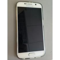 Samsung S6 Liberado Blanco 32gb+cargador Inalambrico Samsung