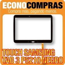Pantalla Touch Samsung Tab 3 P5210 Color Negro 100% Nuevo!!!