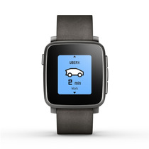 Reloj Int Pebble Time Steel Smartwatch P Apple Android Negro