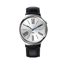 Huawei Watch Smart- Acero Inoxidable Banda Piel Negra
