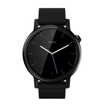 Motorola Moto 360 2nda Gen Smart Watch 42mm Piel Negra