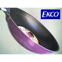 Sartén Wok (ekco) Original, Grande 28 Cm 4 Colores Nuevo Vbf