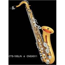 Saxofon Tenor Combinado Llaves Niqueladas ßb ( Sib) Century