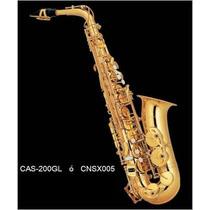 Saxofon Alto Laq Dorado Eb (mib) Century Envio Inmediato