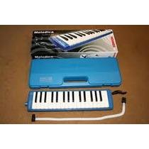 Melodica Hohner Piano 32t.fa-do Azul C/e Mod C94325s
