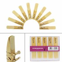 10 Cañas Saxofon Tenor 2 1/2 2.5 Lade Con Caja Nuevas Bambu