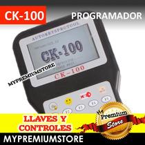Ck-100 Programador De Llaves Y Controles Automotriz Original
