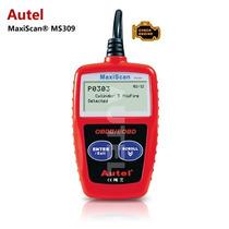 Escaner Autel Ms 309 Multimarcas Obd2 Automotriz