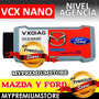 Escaner Ford Vcx Nano Diagnostico Automotriz Nivel Agencia