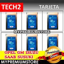 Tarjeta Diagnostico Tech2 Gm Opel Isuzu Saab Susuki A Elegir