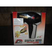 Secadora Profesional Parlux 3200 Ceramic & Iones Negra