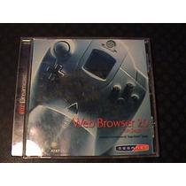 Web Browser 2.0 With Sega Net Sega Dreamcast