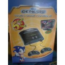 Sega Genesis Lyly Toys Incluye 5 Juegos