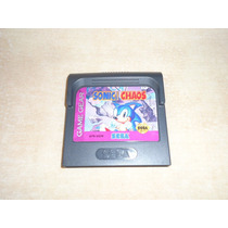 Sonic The Hedgehog Chaos Sega Game Gear +++