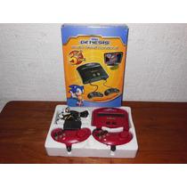 Consola Sega Genesis Con 5 Juegos Y 2 Controles Mejor Nes