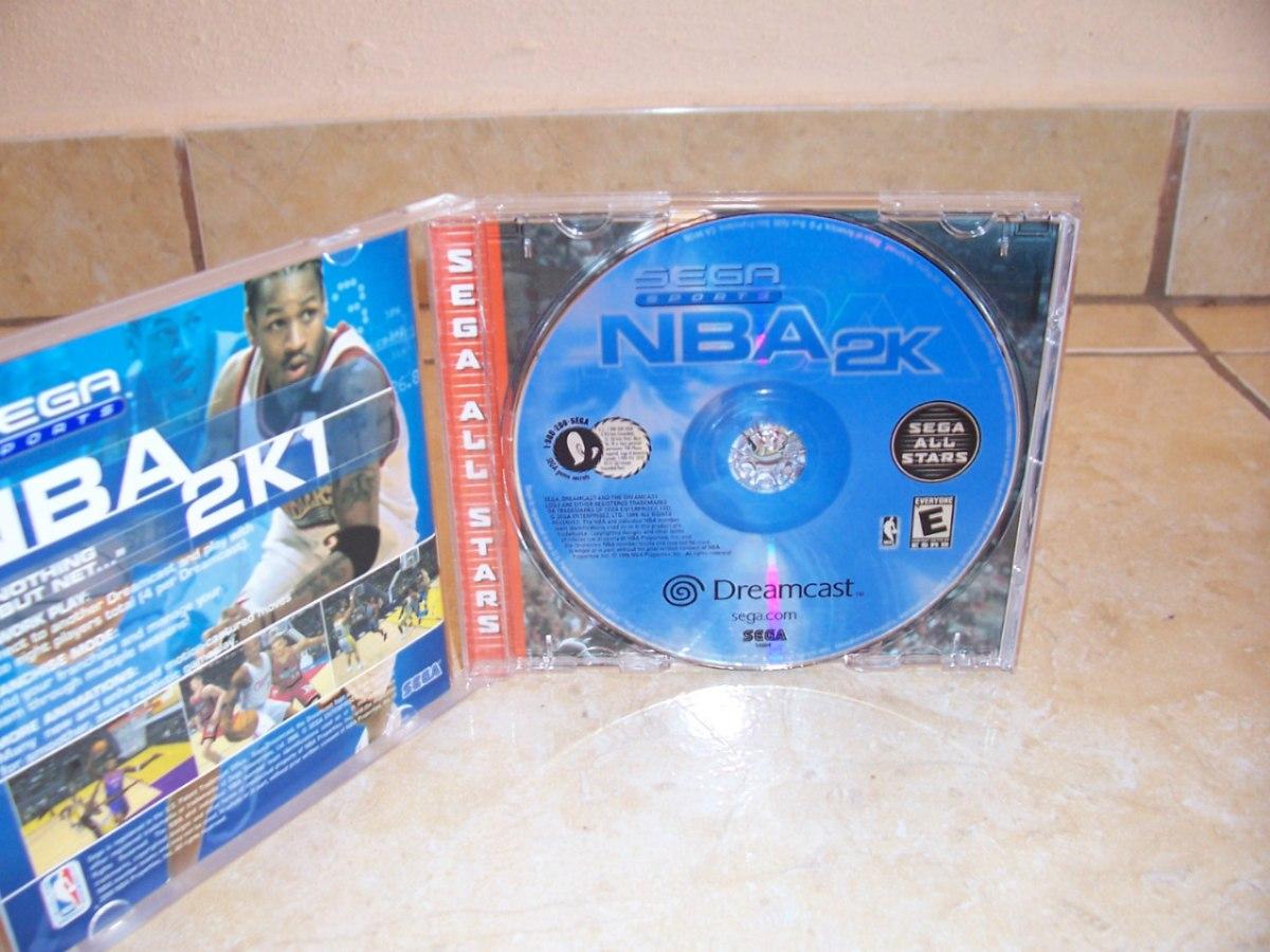 Sega Sports Nba 2k Sega Dreamcast + Completo +++