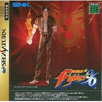 The King Of Fighters 96 Sega Saturn Japonesa