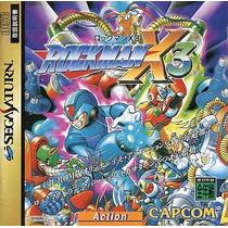 Rockman X3 Sega Saturn Japonesa