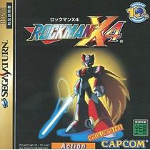 Rockman X4 Sega Saturn Japonesa