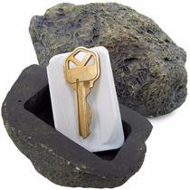 Piedra Porta Llave Para Exterior De Seguridad Roca Realista