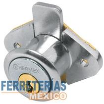 Cerradura Mueble Modelo 21 Cromo Vertical Hermex 43558