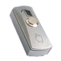 Abk805 - Boton Liberador De Puerta De Aluminio Con Caja Inte