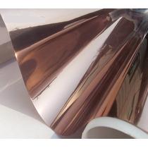 Pelicula Control Solar Reflecta Bronce P Cristal Residencial