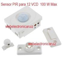 Sensor De Movimiento Pir Para 12 V Sensor Panel Solar 12v
