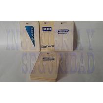 Tarjetas De Control De Acceso Hid (paquete De 100 Piezas)