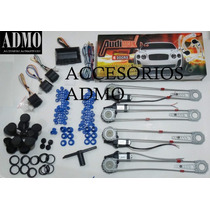 Kit Para Convertir 4 Vidrios Manuales A Electricos Audimax