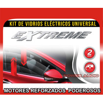 Kit Conversion A 2 Vidrios Electricos Universales