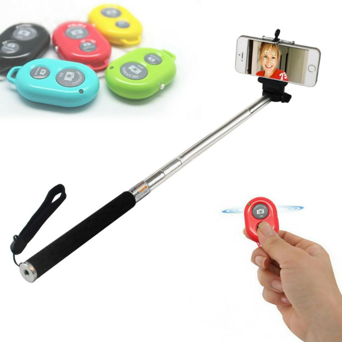 selfie stick bast n para selfie con disparador bluetooth en mercadolibre. Black Bedroom Furniture Sets. Home Design Ideas