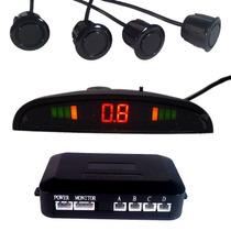 Sistema De 4 Sensores De Reversa, Pantalla Y Alarma Auditiva