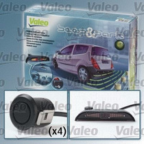 Sensor De Reversa (kit-4 Sensores) Beep & Park Valeo