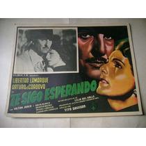 Te Sigo Esperrando L. Lamarque Lobby Card Cartel Poster