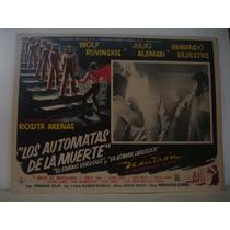 Wolf Rubinski, Los Autómatas De La Muerte, Cartel De Cine