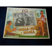 Cosas De Papa Y Mama Tere Velazquez Lobby Card Cartel