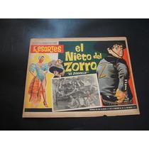 El Nieto Del Zorro Resortes Lobby Card Cartel Poster